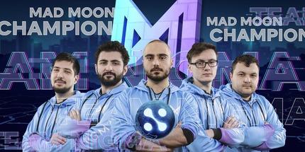 Игроки Nigma — чемпионы WePlay! Tug of War: Mad Moon по Dota 2
