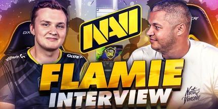 Видео: flamie рассказал о карантине и результатах NAVI в CS:GO