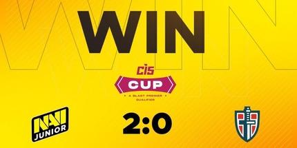 Virtus.pro встретится против NAVI Junior в полуфинале BLAST Premier CIS Cup по CS:GO