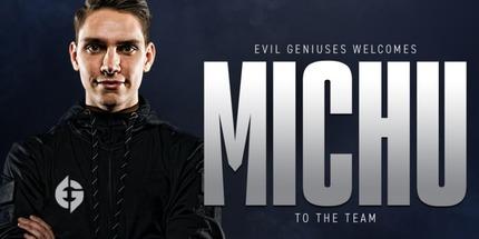 Официально: MICHU заменил tarik в основе Evil Geniuses по CS:GO