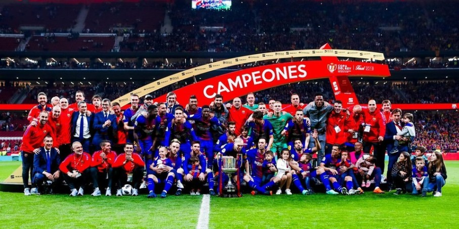 Барселона - победитель Кубка Испании