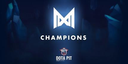 Nigma стала чемпионом второго сезона OGA Dota PIT: Europe CIS