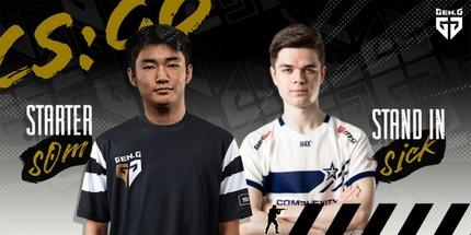 SicK и s0m присоединились к Gen.G Esports по CS:GO