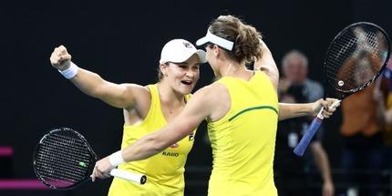 Сборная Австралии стала первым финалистом Кубка Федерации