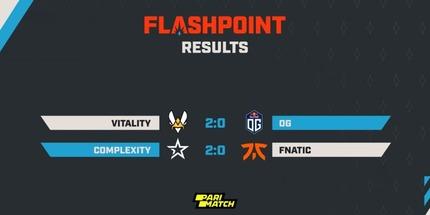 Fnatic и OG завершили выступления на Flashpoint 3 для Европы