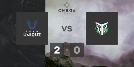 Unique и TEMPO — последние участники плей-офф закрытой квалификации на OMEGA League по Dota 2