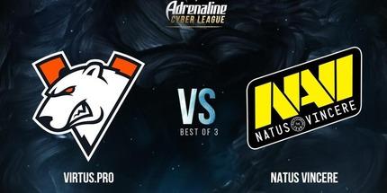 Virtus.pro против Natus Vincere — трансляция матча Adrenaline Cyber League 2019 по Dota 2