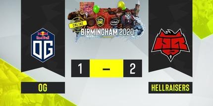 HellRaisers обыграли OG на ESL One Birmingham 2020 по Dota 2