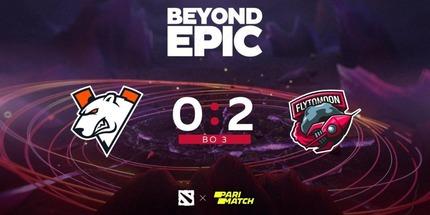 Virtus.pro проиграла в двух стартовых играх BEYOND EPIC по Dota 2