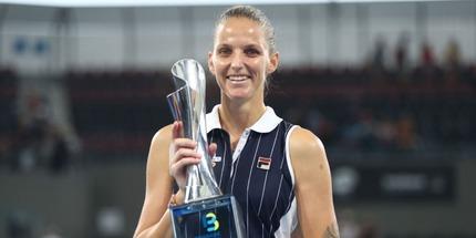 Каролина Плишкова выиграла турнир в Брисбене