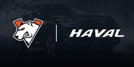 Клуб Virtus.pro начал сотрудничество с автомобильным брендом Haval