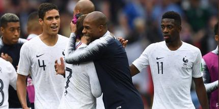 Франция вышла в полуфинал ЧМ, обыграв Уругвай
