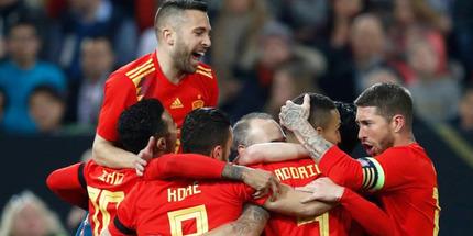Испания - Хорватия: победа хозяев