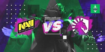 Natus Vincere против Team Liquid — прямой эфир финала виннеров MegaFon Winter Clash по Dota 2