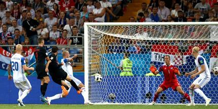 Исландия проиграла Хорватии и вылетела с ЧМ-2018