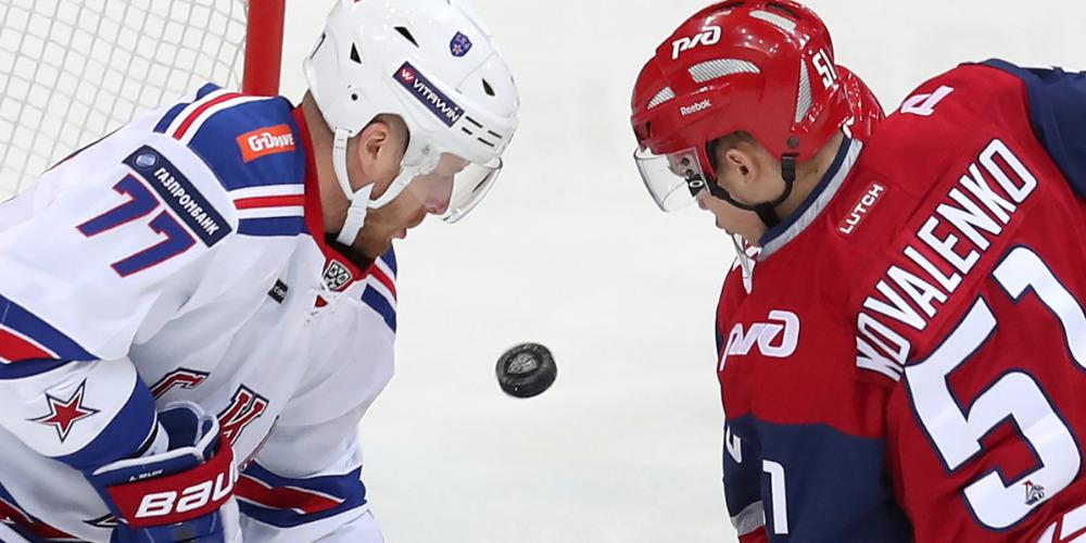 СКА против «Локомотива»