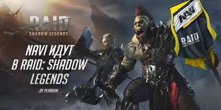 Клуб Natus Vincere начал партнёрство с Raid: Shadow Legends