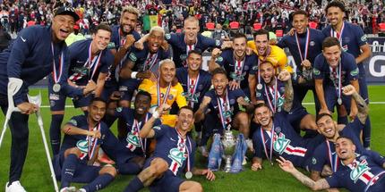 ПСЖ выиграл последний в истории Кубок лиги Франции