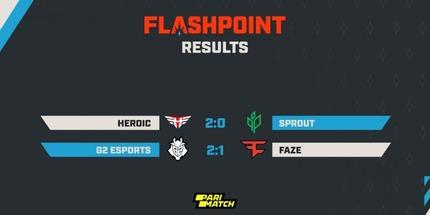 FaZe Clan уступила G2 и упала в нижнюю сетку Flashpoint 3 для Европы