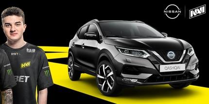 Украинский клуб NAVI и автобренд Nissan стали партнёрами