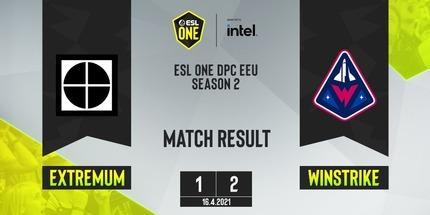 Winstrike переиграла EXTREMUM на ESL One CIS Online S2: Upper Division