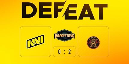 Natus Vincere проиграла ENCE в матче DreamHack Masters Spring по CS:GO