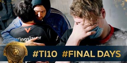 Видео: финальный видеоблог Virtus.pro во время The International 10