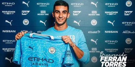 Манчестер Сити подписал Феррана Торреса