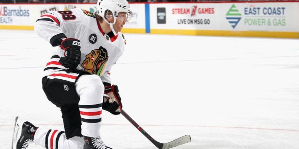 Кейн Чикаго НХЛ