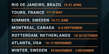 Турнирный оператор DreamHack в 2019 году организует 11 турниров серии Open