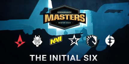 NAVI, Astralis и G2 сыграют на DreamHack Masters Winter по CS:GO