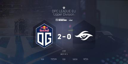 Team Secret уступила OG в первом дивизионе DPC 2021: Season 2