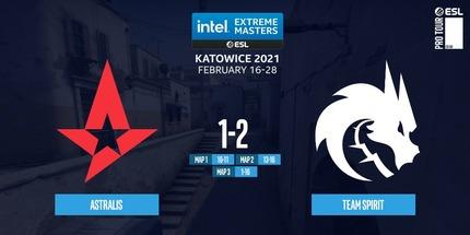 Игроки Spirit победили Astralis и прошли в полуфинал IEM Katowice 2021 по CS:GO