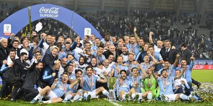 Лацио выиграл Суперкубок Италии