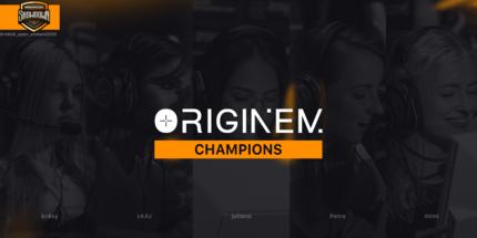 Женская команда Originem выиграла DreamHack Showdown Summer по CS:GO