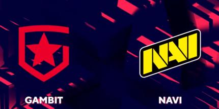 Gambit победила NAVI и вышла в гранд-финал BLAST Premier: Spring Finals