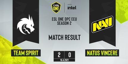 NAVI с Рамзесом уступили Spirit на ESL One CIS Online S2: Upper Division