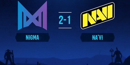 NAVI и Virtus.pro проиграли свои матчи на EPIC League по Dota 2