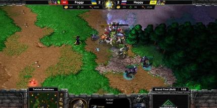 Россиянин Happy выиграл на DreamHack Warcraft III Open Winter Season