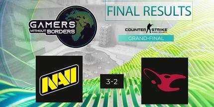 NAVI победила на благотворительном турнире Gamers Without Borders по CS:GO