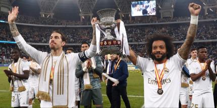 Реал - победитель Суперкубка Испании